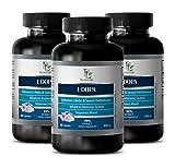 Increase female libido - L-DOPA (99%) 350Mg - MUCUNA PRURIENS EXTRACT VEGETARIAN FORMU - 3 Bottle 180 Capsules