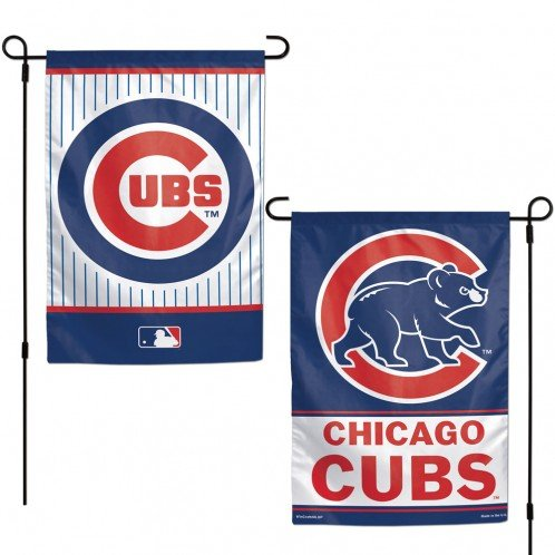 Yard Chicago Cubs - WinCraft Chicago Cubs Flag 12x18 Garden Style 2 Sided