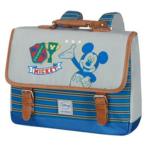 Disney Samsonite Stylies Cartable S Sac à Dos Enfant, 34 cm, 8 L, Mickey College