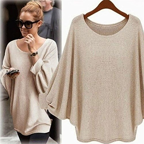 Batwing Femmes pull oversize oversize tricot Femmes pull tricot oversize Batwing tricot pull Femmes Batwing HCzUnx
