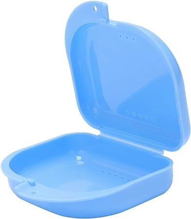 SODIAL(R) Caja de Dentadura Protector Bucal Ortodoncia Dental: Amazon.es: Juguetes y juegos