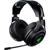 Razer ManO'War: Sonido envolvente inalámbrico 7.1 - Tecnología inalámbrica de 2.4 GHz - Controles de acción rápida - Micrófono retráctil unidireccional - Los auriculares para juegos funcionan con PC, PS4 y Xbox One