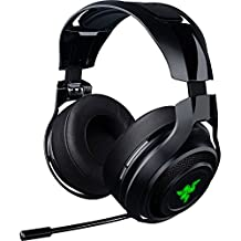 Razer ManO'War: Wireless 7.1 Surround Sound - 2.4 GHz Wireless Technology - Quick Action Controls - Unidirectional Retractable Mic - Gaming Headset Works with PC, PS4, & Xbox One