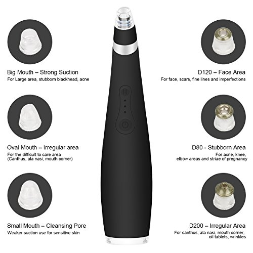Blackhead Remover Pore Vacuum Extractor Machine Facial