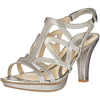 f787ae218cf5 Naturalizer Women s Danya Platform Dress Sandal Pewter 8 M US