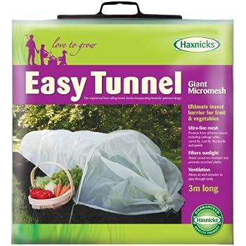 Captivating Tierra Garden 50 5030 Haxnicks Easy Micromesh Tunnel Garden Cloche, Giant