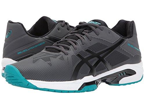 [asics(アシックス)] メンズランニングシューズ?スニーカー?靴 Gel-Solution Speed 3 Dark Grey/Black/Lapis 7 (25.25cm) D - Medium