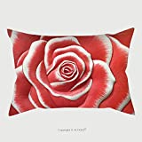 Custom Satin Pillowcase Protector Low Relief Cement Thai Style Handcraft Of Rose Flower 446468374 Pillow Case Covers Decorative
