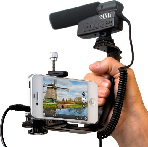 MXL Mics MM-VE001 Microphone Kit for Smartphones and Tablets