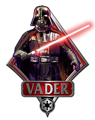Star Wars Silver Buffalo SW2006 Disney Darth Vader Episod...