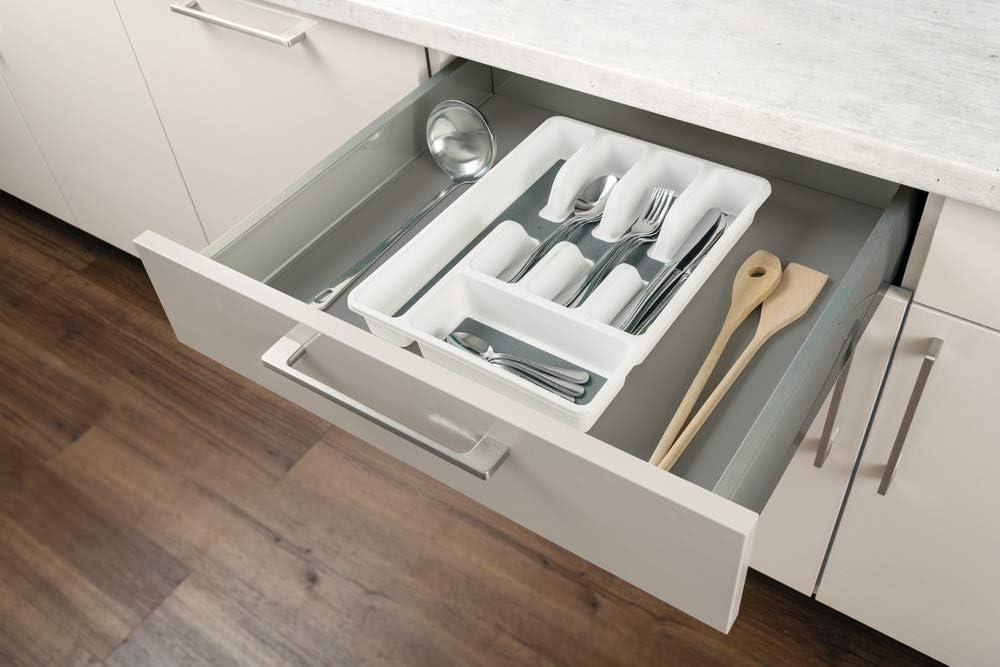 Organizador de cubiertos para cajones 5 compartimentos
