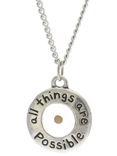 Amazon necklace mustard seed w18 chain jewelry necklace mustard seed w18quot aloadofball Image collections