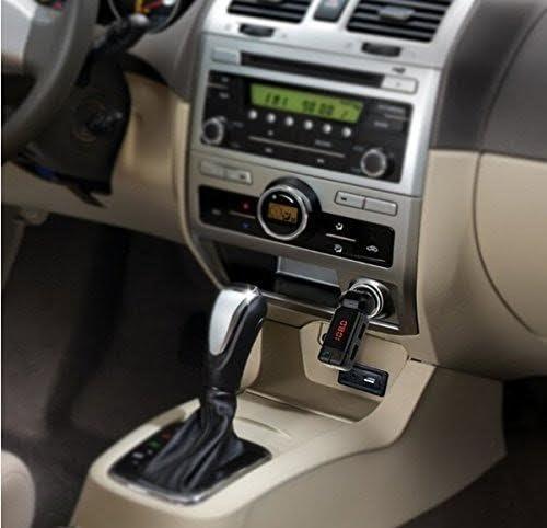 3.5 mm AUX Stereo Output Mp3 Player MMOBIEL Bluetooth FM Radio WLAN Transmitter Dual USB Port 5V//2A Auto Kfz Kabellos Lade Kit mit Musik Audio Receiver Empf/änger Sound System Kartenleser