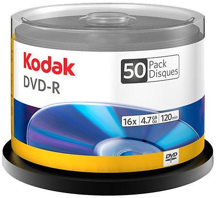 UPC 881295502505, Kodak 50250 DVD-R - 50 Pack