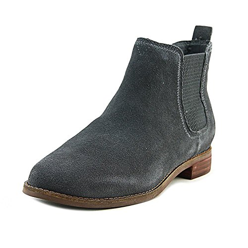 TOMS Women's Ella Booties Forged Iron Grey Suede 7