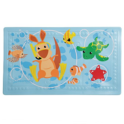 Dreambaby Anti-Slip Bath Mat with Too Hot Indicator (Slip Bath Mats Anti)