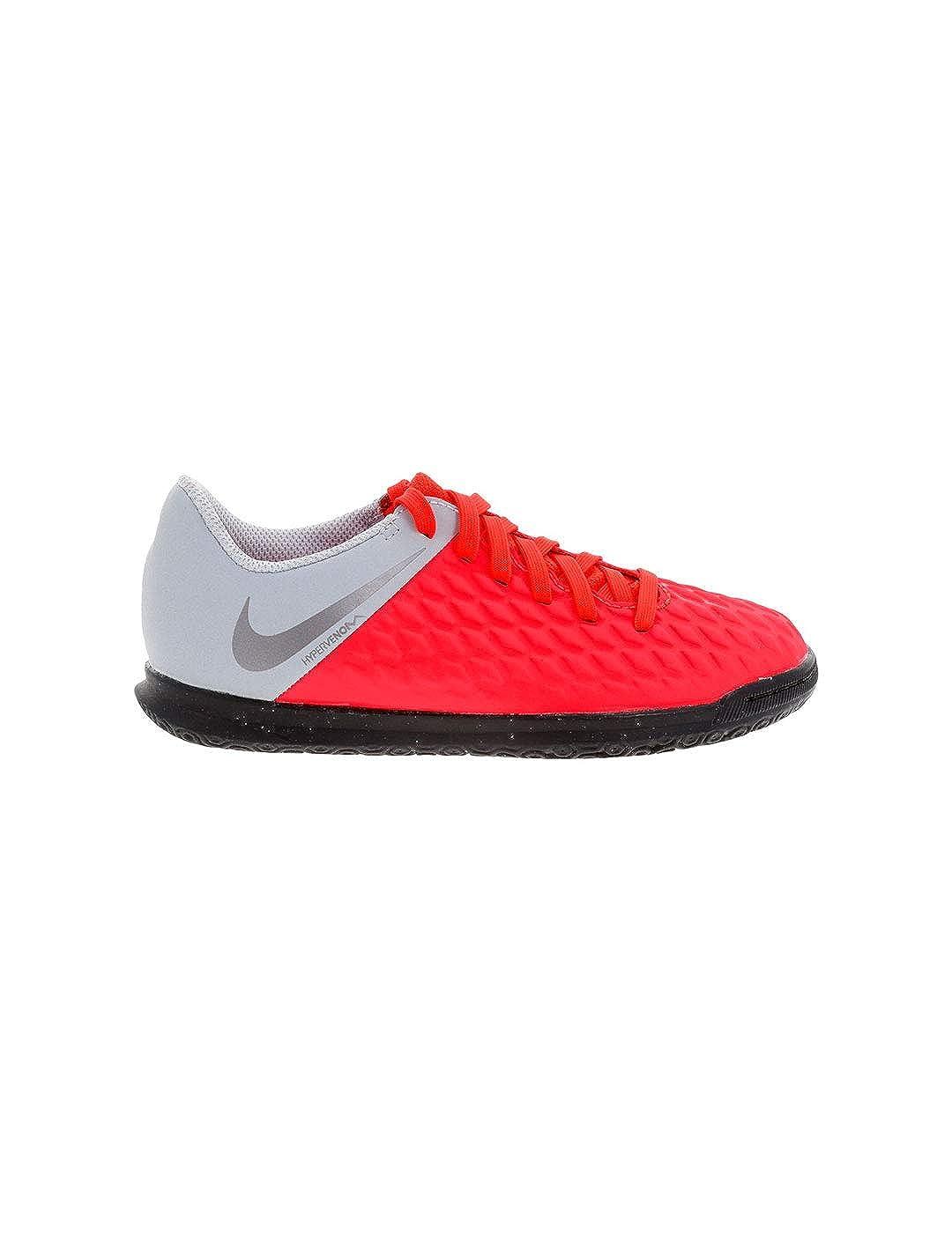Chaussures 600Gris Mixte IcClub Nike Hypervenom Jr De 3 Futsal 9E2YDHWI