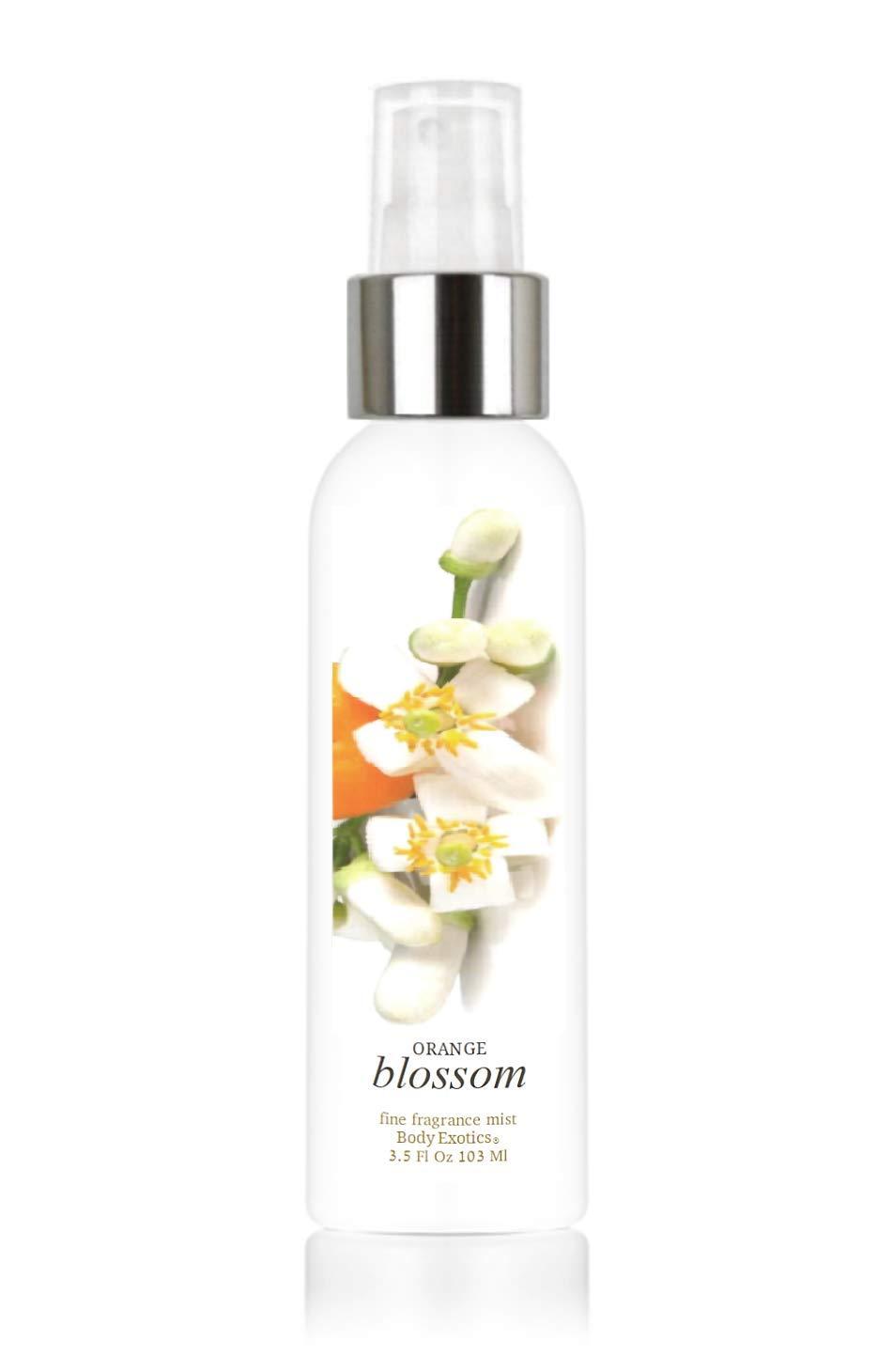 "Orange Blossom with Neroli Perfume Voted""Most Realistic"" Fine Fragrance Cologne Mist Body Exotics 3.5 Fl Oz 103 Ml a Lush Heady True Orange Blossom Floral with Neroli Essential Oil"