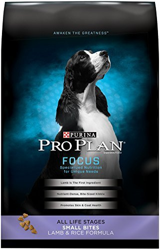 Purina Pro Plan Dry Dog Food, Focus, Small Bites Lamb & Rice Formula, 18-Pound Bag by Purina Pro Plan