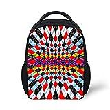 FancyPrint Cute Small Kids Cute Backpack Bag For Elementary girls