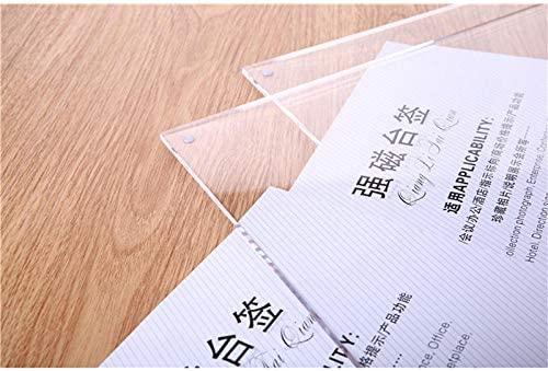 Cartel magnético para mesa de Taiwán (4 unidades) con doble ...