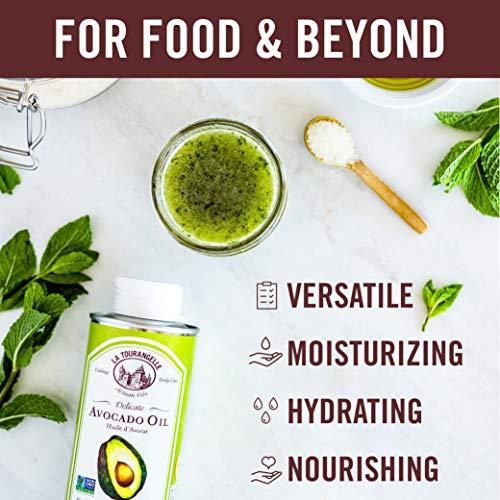 La Tourangelle Avocado Oil 8.45 Fl. Oz., All-Natural, Artisanal, Great for Salads, Fruit, Fish or Vegetables, Great Buttery Flavor by La Tourangelle (Image #5)