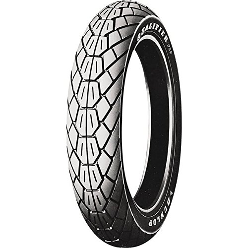 Dunlop F20 Front 110/90-18 Raised White Letter Motorcycle Tire