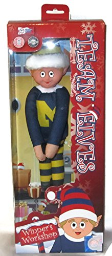 Forever Collectibles U of M University of Michigan Team Elves Elf