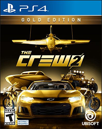 The Crew 2 GOLD Edition - PS4 [Digital Code] by Ubisoft