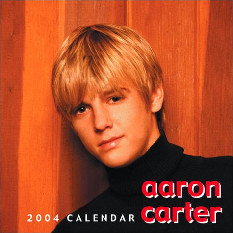 2004 Mini Calendar - Aaron Carter Mini 2004 Calendar
