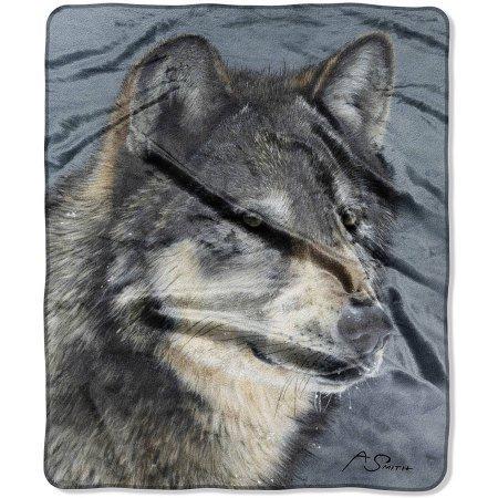 northwest company wolf blanket - 1