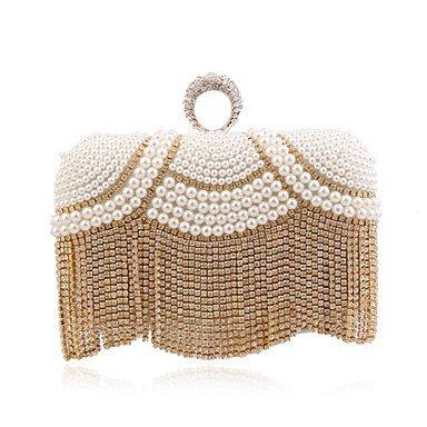 sac L'oxydation de de soirée Gold femme mode zircon EwSOw