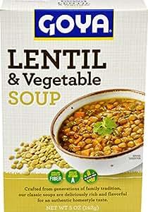 Goya Foods Lentil Dry Soup, 5 Ounce (Pack of 12)