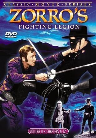 Amazoncom Zorros Fighting Legion Vol 2 Reed Hadley Movies Tv