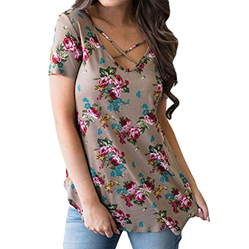 ZXZY Women Sleeve Floral Blouse product image