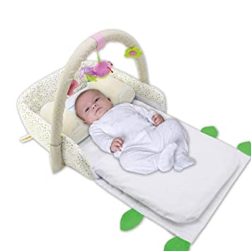 Buxuxbue Cama Nido Bebé Reductor Protector De Cuna Cama ...