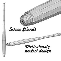 7 Pack of Elegant Metal Stylist Pens, Honsky® Updated Version Colorful Slim Long Capacitive Stylus, Universal Sensitive iPhone iPad Mini Stylus Pen, Mesh Stylus For Touch Screens, Hybrid Mesh / Rubber Tip Stylus, For Apple iPad Mini 3 2, iPhone 6S 6S Plu