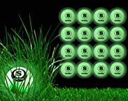 San Sop [16 Pack ] Night Golf Balls with Portable Mesh Bag Rechargeable Glow in The Dark Golf Balls, Make Your Every Shot Counts and More Fun at Night