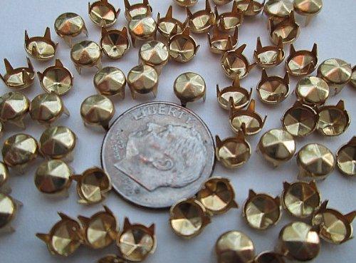 Nailheads Spots Studs size 20/107 4-prong 3/16