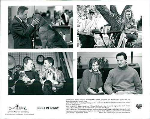 Vintage Photos 2000 Photo Actor Christopher Guest Eugene Levy Catherine Ohara Best in Show 8X10