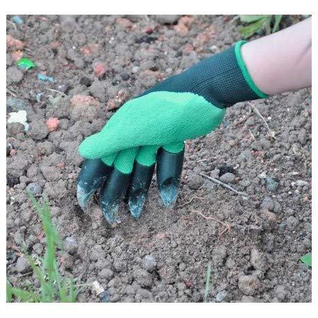 Eiito guantes de jardiner/ía con garras de excavaci/ón Sensitivity para el jard/ín y tareas del hogar Guantes de jardin guantes protectores seguridad trabajo
