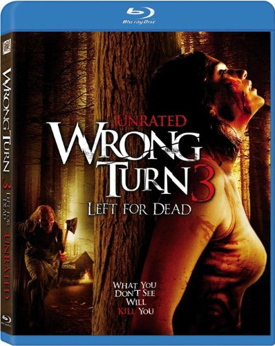 Blu-ray : Wrong Turn 3: Left For Dead (, Dubbed, Digital Theater System, AC-3, Dolby)