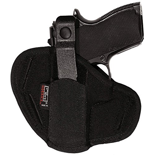 Uncle Mike's Off-Duty and Concealment Kodra Nylon Super Belt Slide Holster (Size 0, Black)