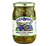 Jake & Amos Million Dollar Sliced Pickles 16 Oz. (3 Jars)