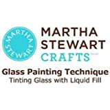 Martha Stewart Crafts Frost Translucent Glass Paint in Assorted Colors (2-Ounce), 33199 Wedding Cake