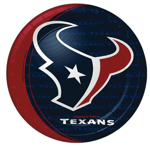 Houston Texans Dinner Plates