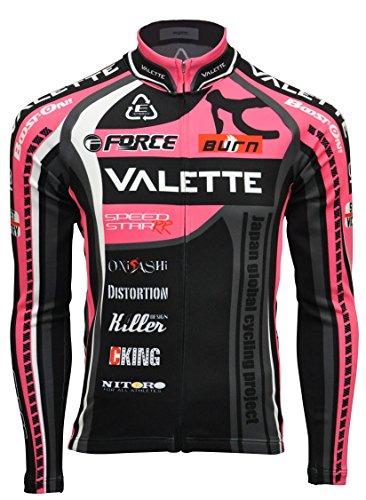 発信びん安全性(バレット)Valette A-line Speedⅱウインタージャージ【 VALETTE 防寒 裏起毛 サイクリングジャージ サイクルジャージ 自転車 ウェア サイクルウェア 冬用 長袖 速乾 軽量 】