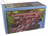 Swanson Christian Supply 101615 Communion - Cup - Disposable - Clear - 1 - 0.25 in.