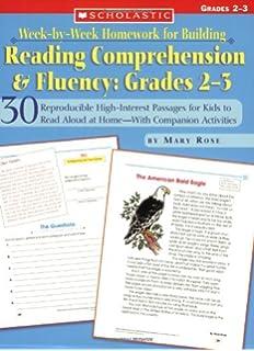 Comprehension homework