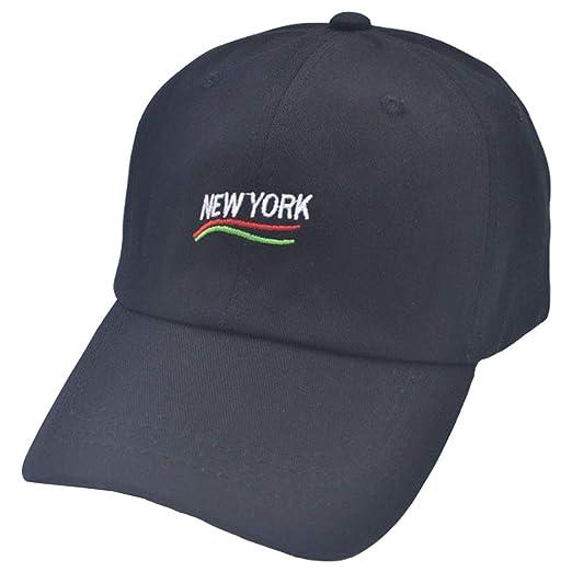 405d89367782de Amazon.com: New-York-Embroided Unstructured Baseball-Cap for Men ...